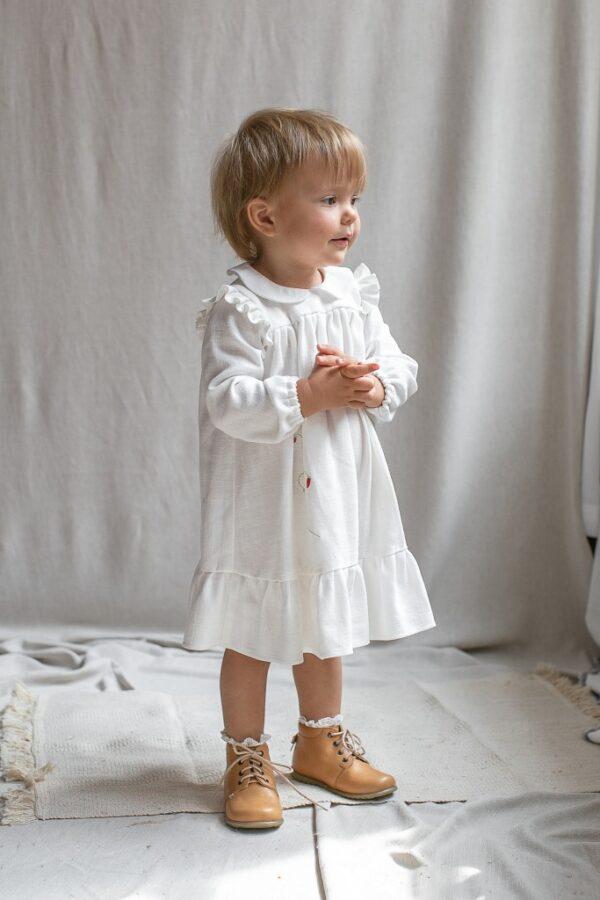 elegancka-stylowa-hiszpanska-sukienka-dla-dziewczynki-na-chrzest-premium-z-kolnierzykiem-na-slub-roczek-prezent-mikolaja-lilen-slaska-prohibicja